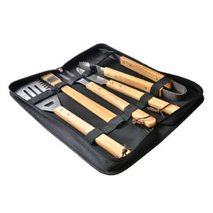5-piece barbecue tool set corporate gift