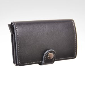 BAG05863 Side Button Card Holder with RFID Blocking-1