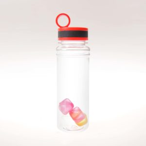 DRW08354 Water Bottle with Reusable Ice Cubes