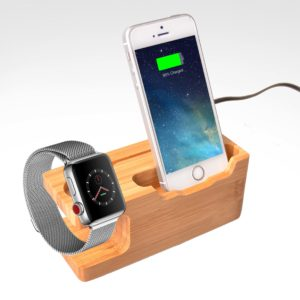 DSK05789 Bamboo Charging Station