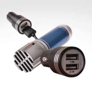 PTX8391 Car Ionizer + USB Car Charger-5