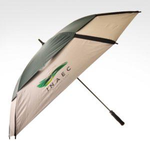 WET05781 30 Square Fiberglass Golf Umbrella (Shoot Front view ENAEC Sample)-2