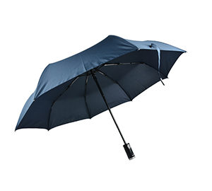 WET08138 3 Folds Umbrella ( w flashlight )