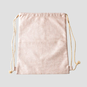 BAG8322 Drawstring Linen Bag
