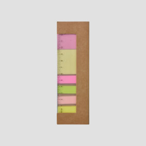 STA08639 Recycled Post-it w Ruler