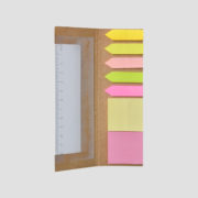 STA08639 Recycled Post-it w Ruler_b