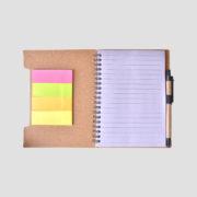 STA08644 Cork Notebook w Post-it_b