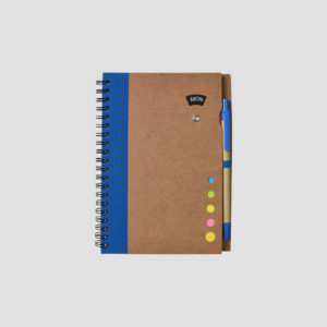 STA08675 Recycled notebook with pen