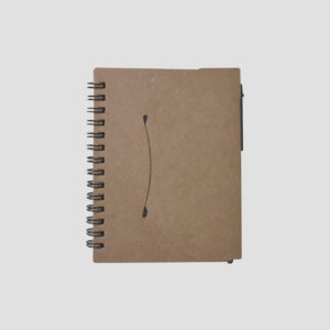 STA3512 Recycled Notebook Small with Pen