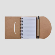 STA3512 Recycled Notebook Small with Pen_b