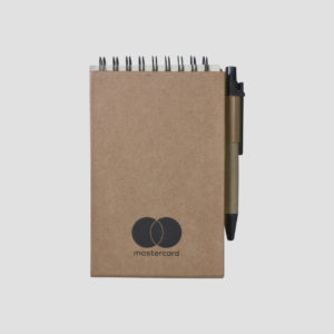 STA4416 Recycled Mini Notebook with Pen